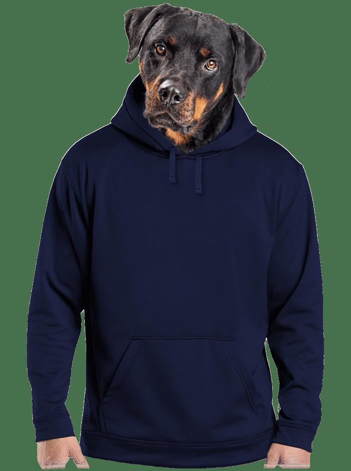 Férfi pulóver navy