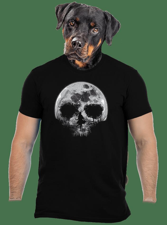 Halálos telihold férfi póló