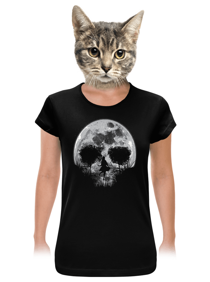 Halálos telihold női póló
