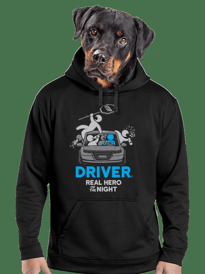 Driver férfi pulóver