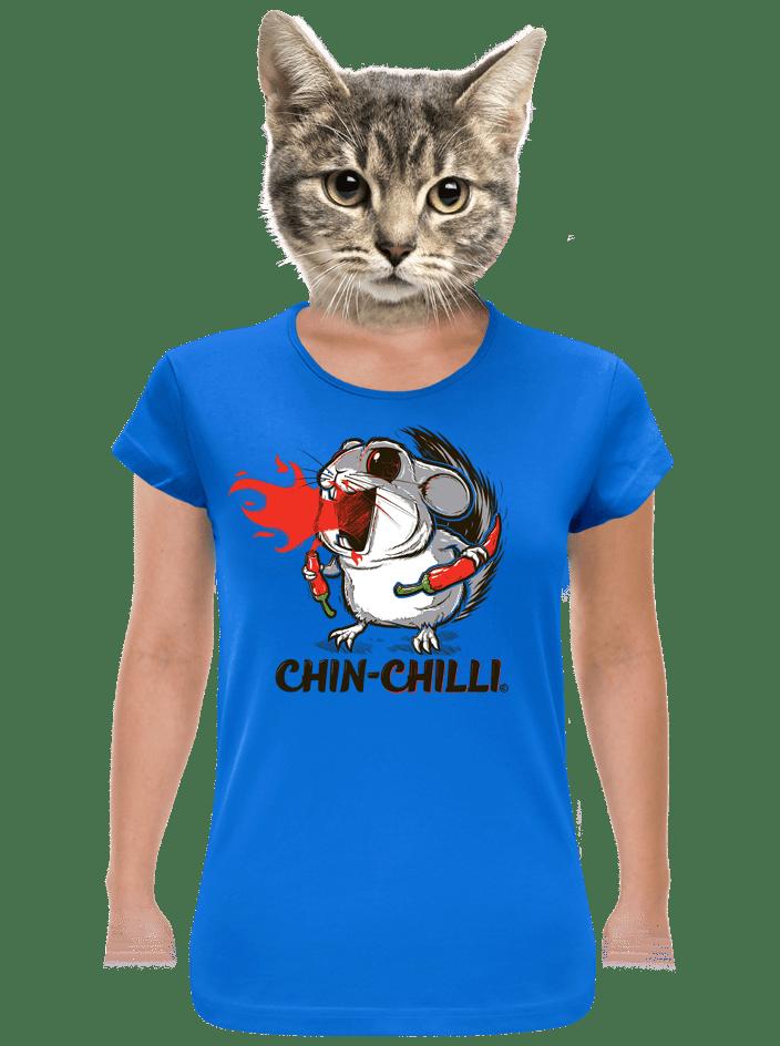 Chinchilli női póló kék