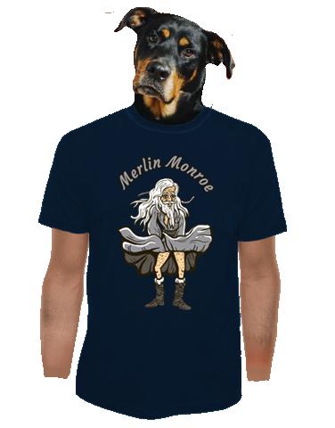Merlin Monroe férfi póló