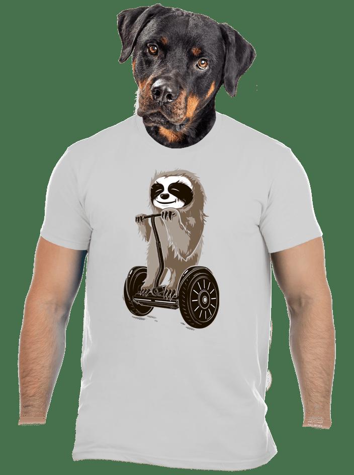 Lajhár férfi póló szürke