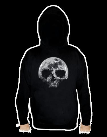 Halálos telihold férfi pulóver – hát