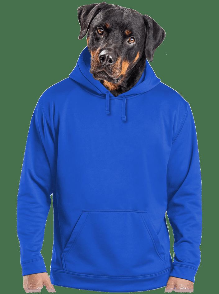Férfi pulóver sötétkék