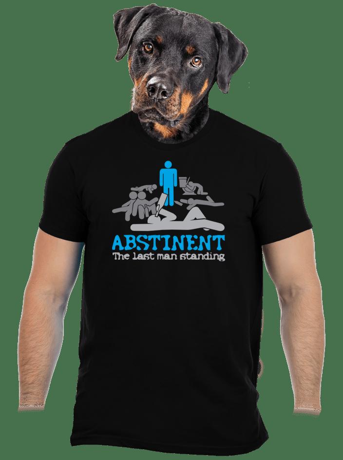 Absztinens férfi póló