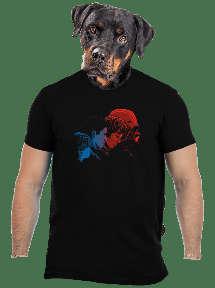 Vaders evolution férfi póló