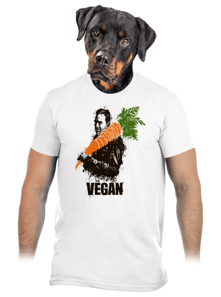 Vegán férfi póló