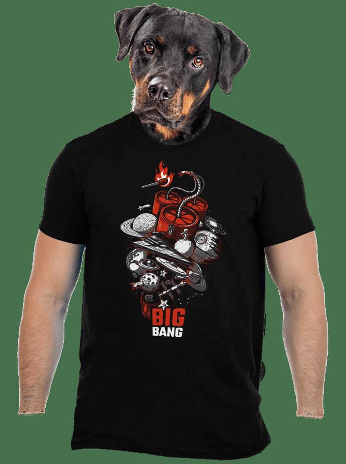 Big bang férfi póló