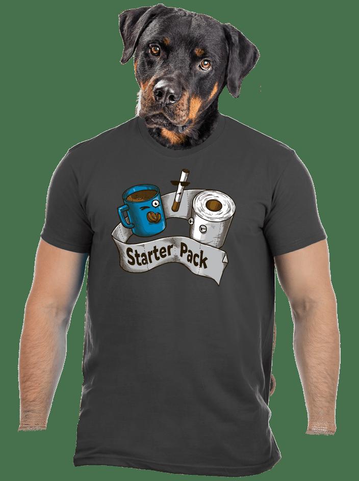 Starter pack férfi póló