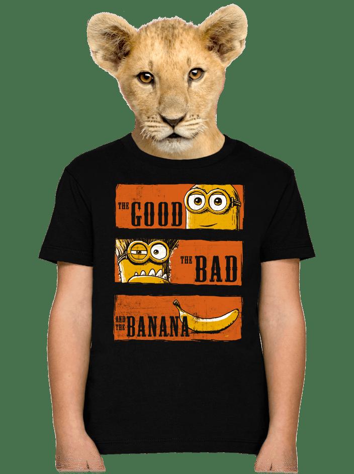 A Jó, a Rossz és a Banán gyerek póló