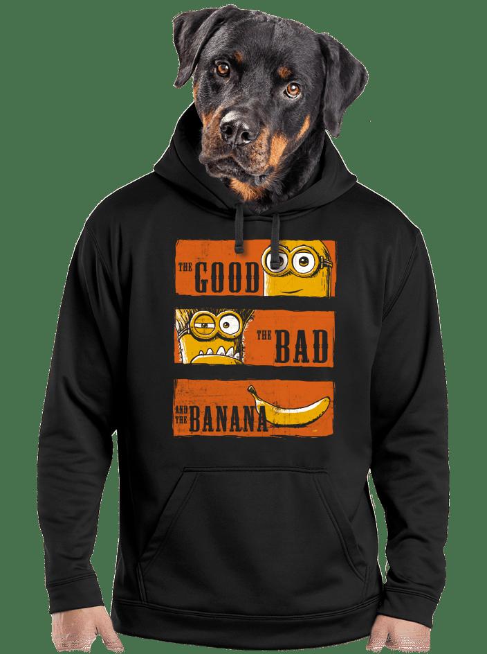 A Jó, a Rossz és a Banán férfi pulóver