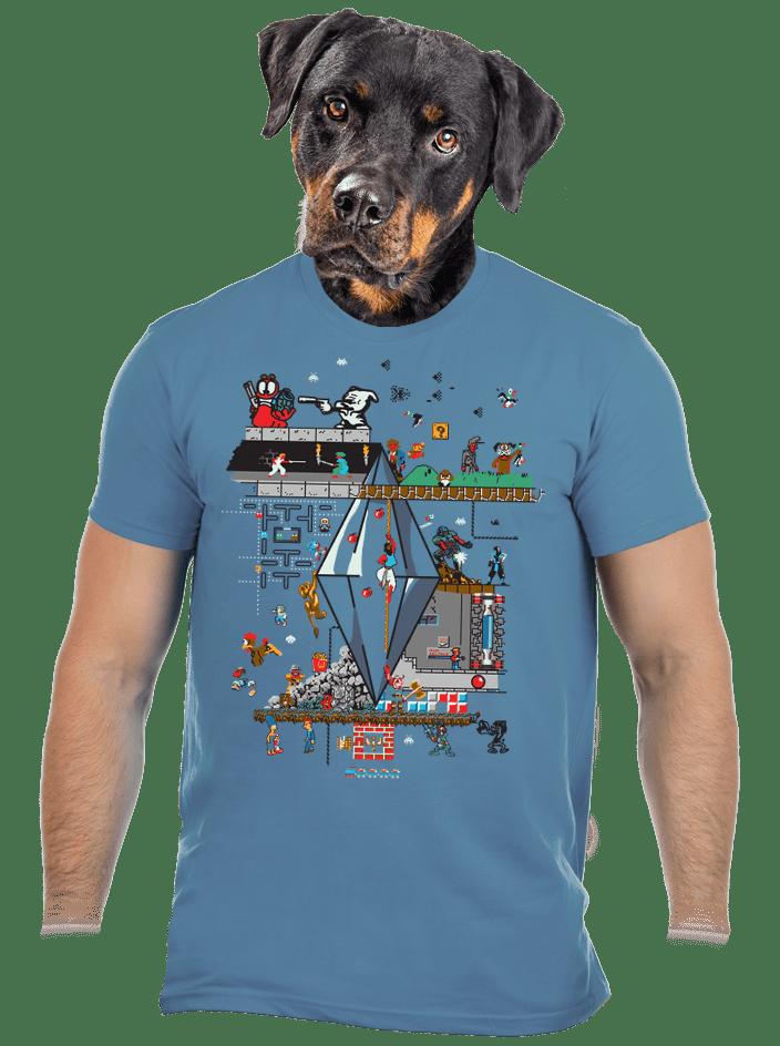 Veretés férfi póló