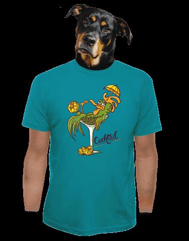 Cocktail férfi póló