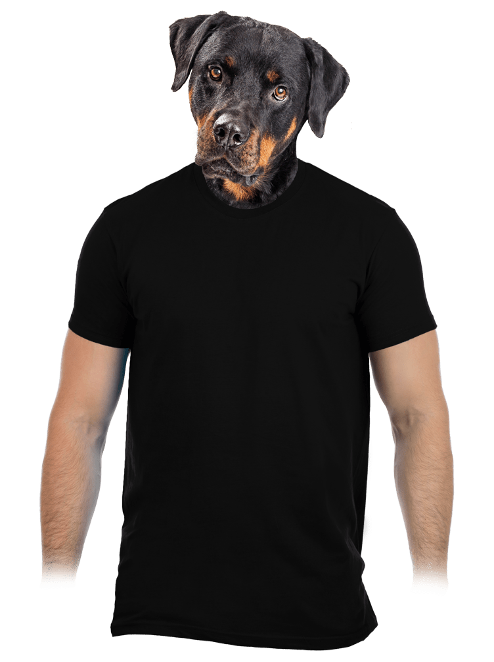 Férfi póló fekete
