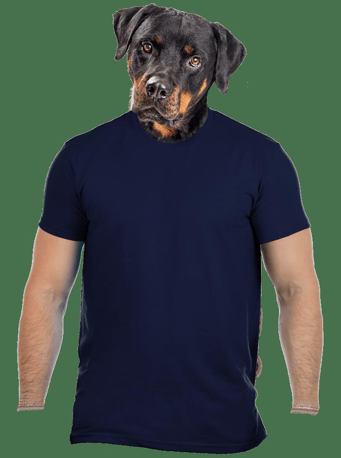 Férfi póló navy