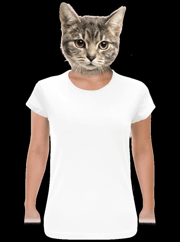 Hagyományos szabású női póló fehér