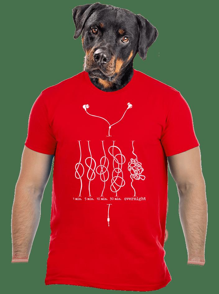 A fonás iskolája férfi póló
