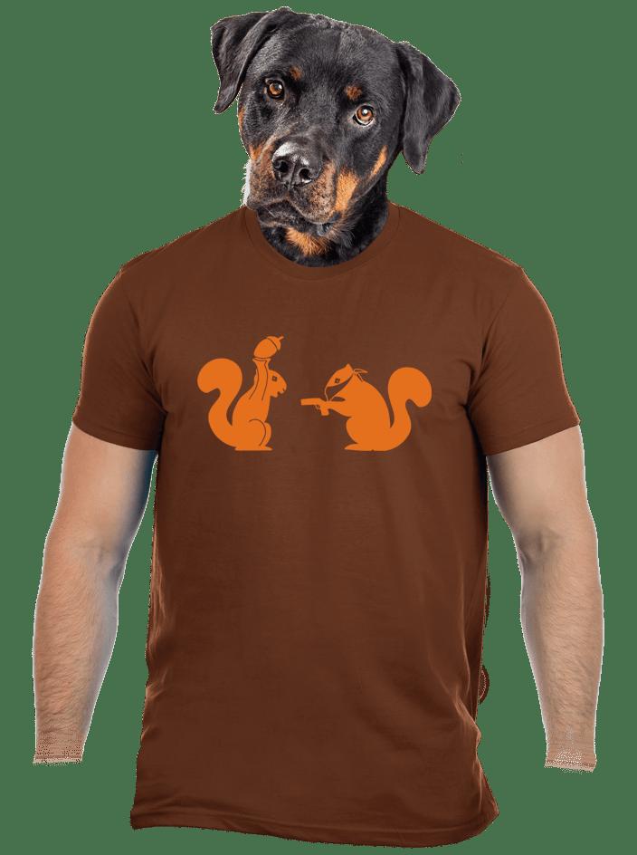 Mókusok férfi póló
