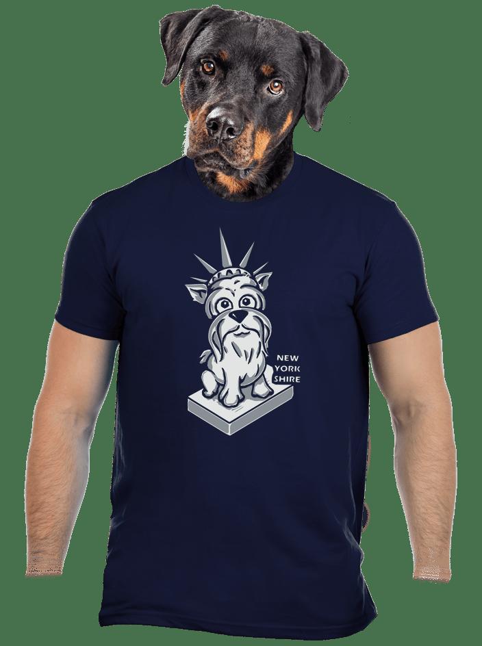 New Yorkshire férfi póló