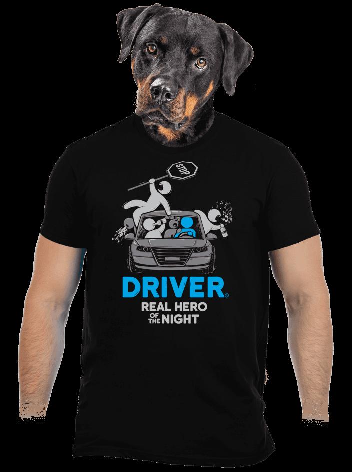 Driver férfi póló