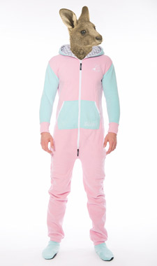 Skippy light pink light blue