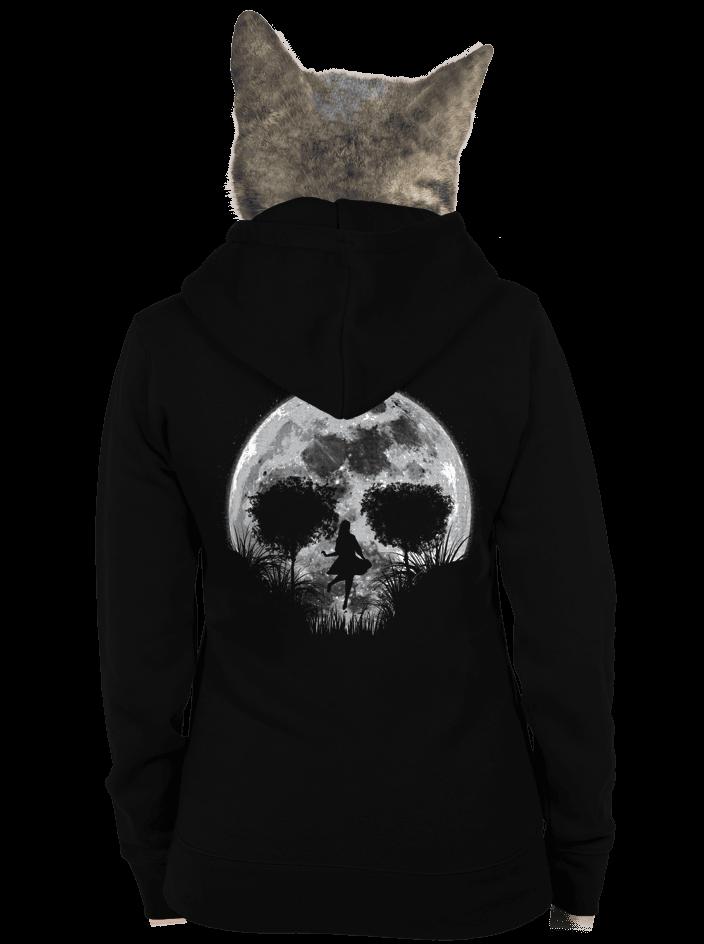 Halálos telihold női pulóver – hát