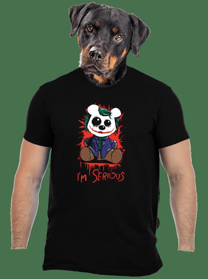 Serious férfi póló
