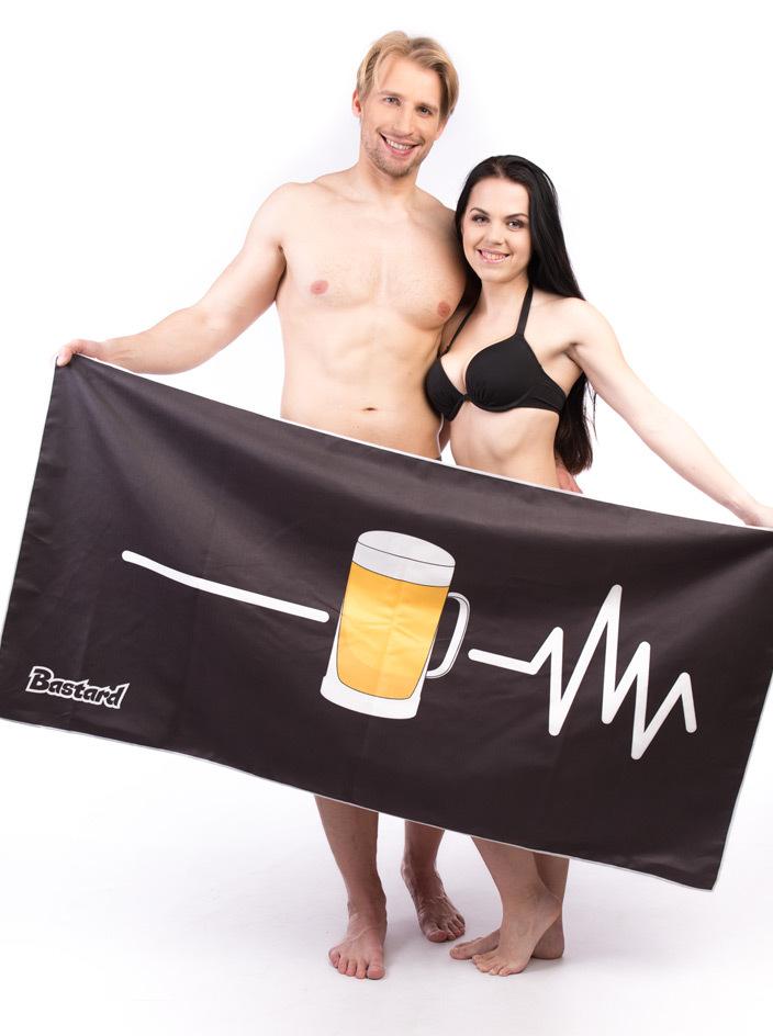 Beer Help mikroszálas törölköző