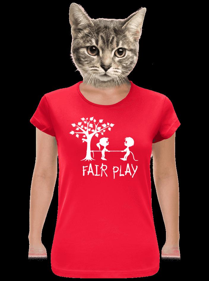 Fair play női póló