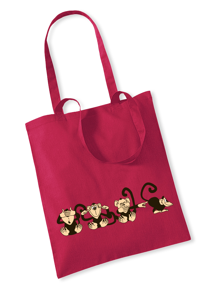 Majmok válltáska