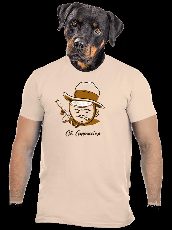 Al Cappuccino férfi póló
