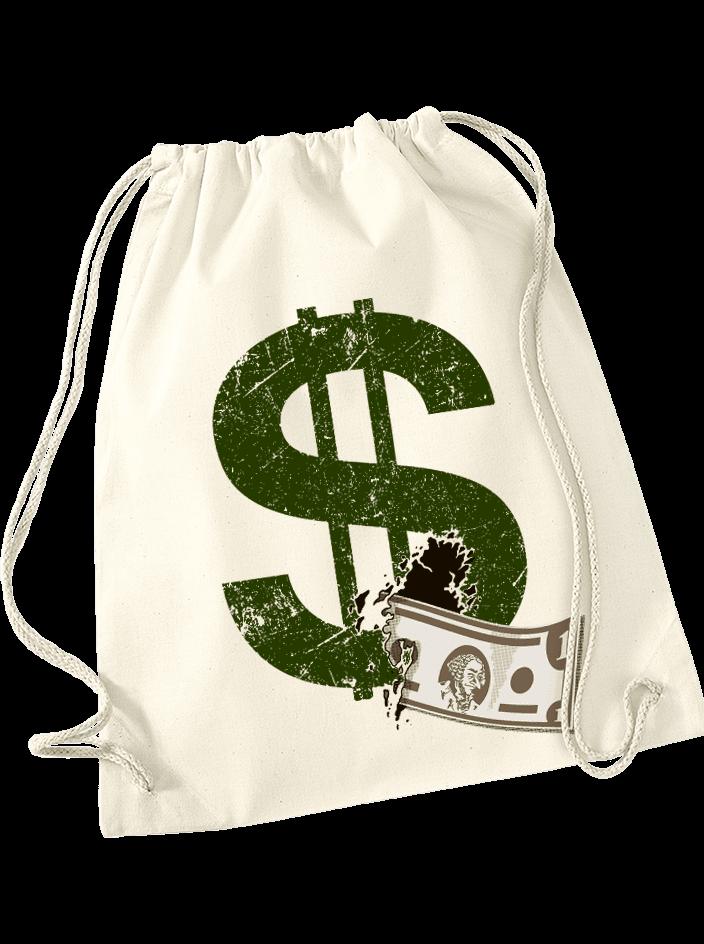 Dollár táska hátizsák natural