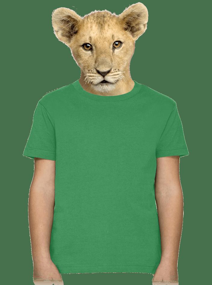 Gyerek póló zöld
