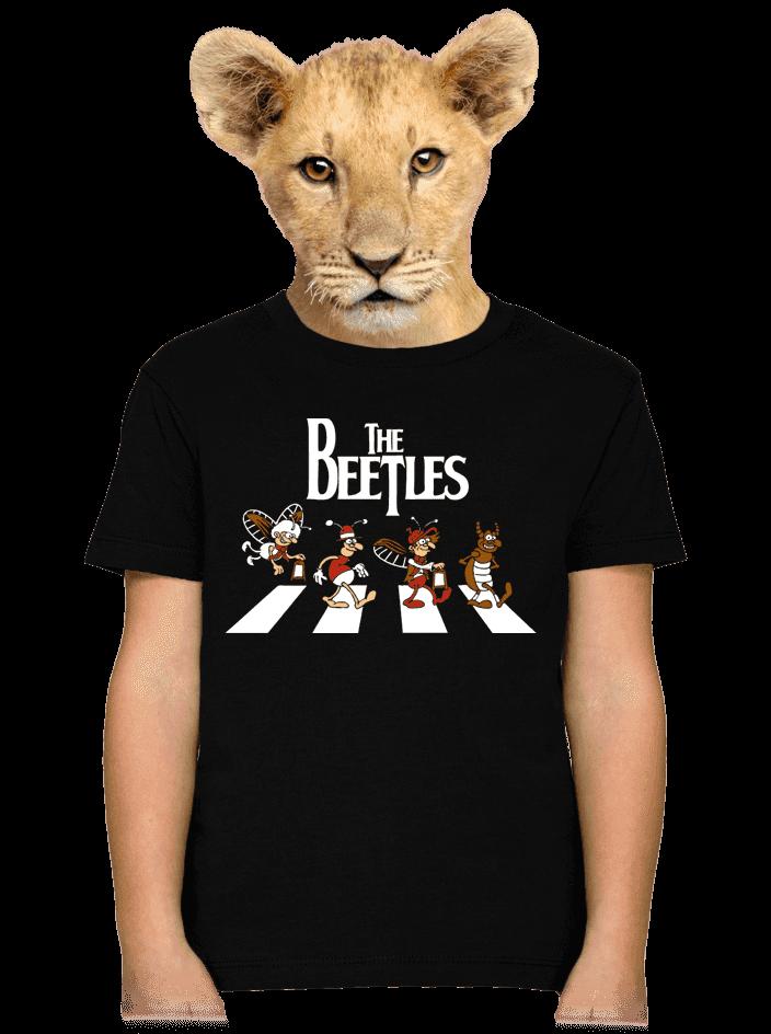 Beatles gyerek póló