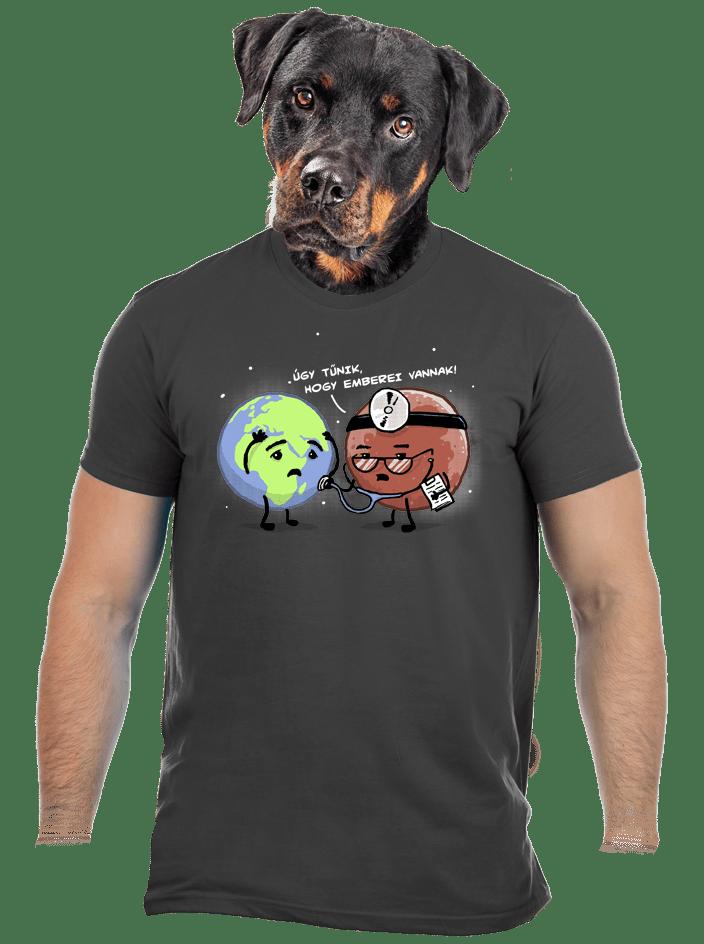 Diagnózis férfi póló