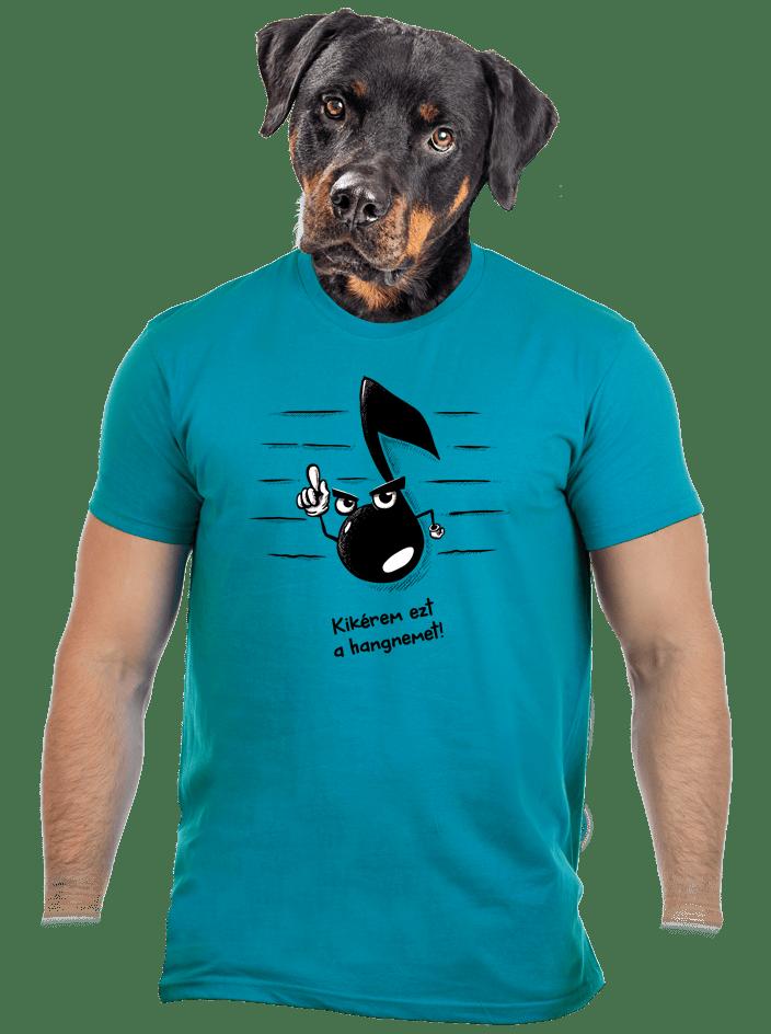 Hangnem férfi póló