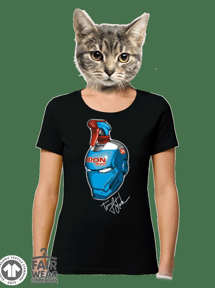 Ablaktisztító női póló