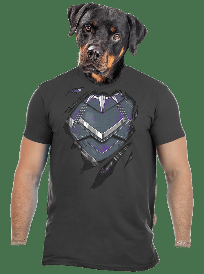 Panther inside férfi póló