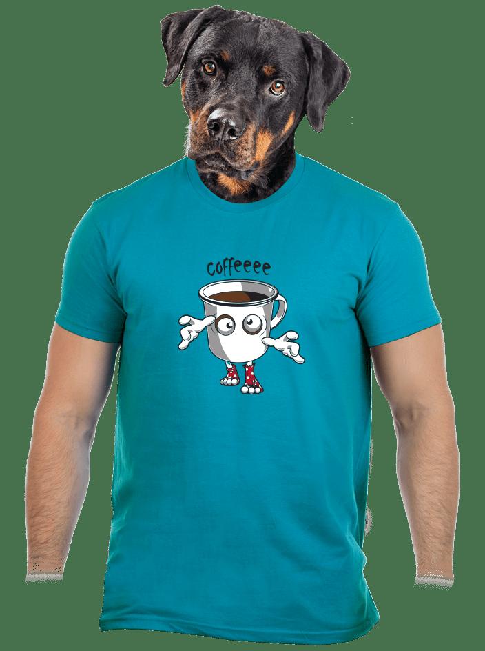 Zombie coffee férfi póló