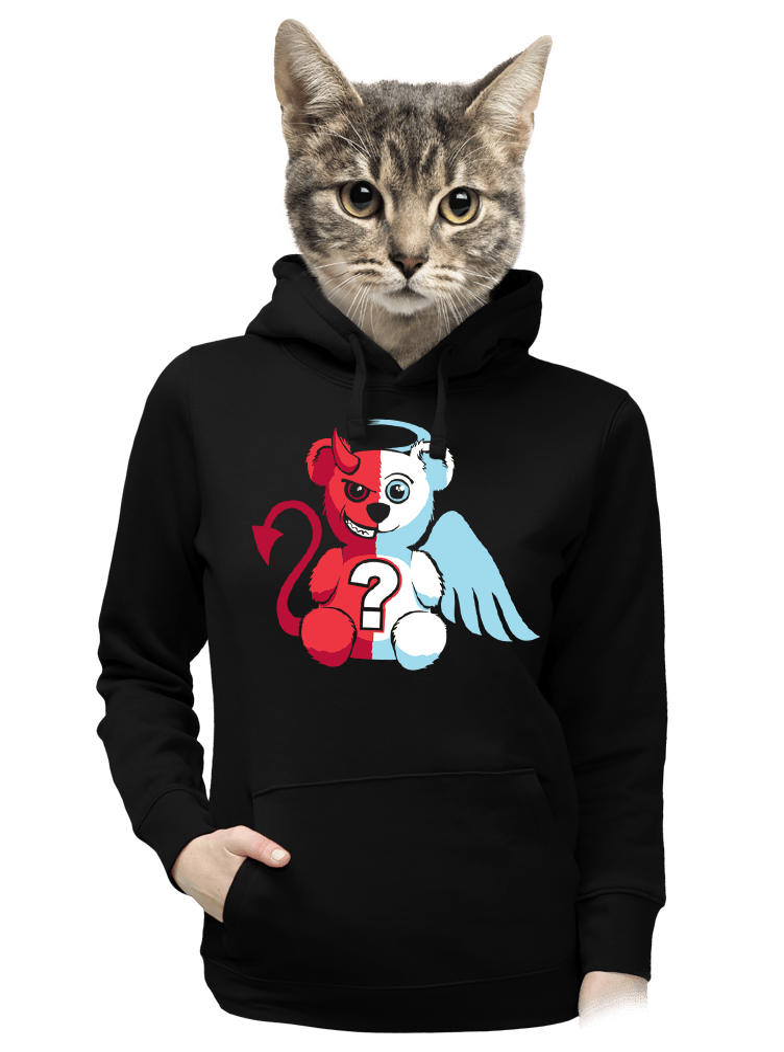 Angyal vagy ördög női pulóver