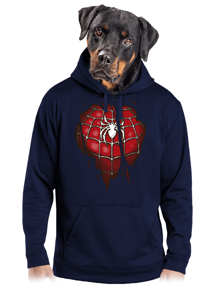 Spider Inside férfi pulóver