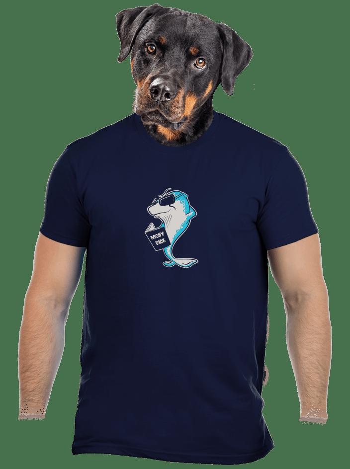 Moby dick férfi póló