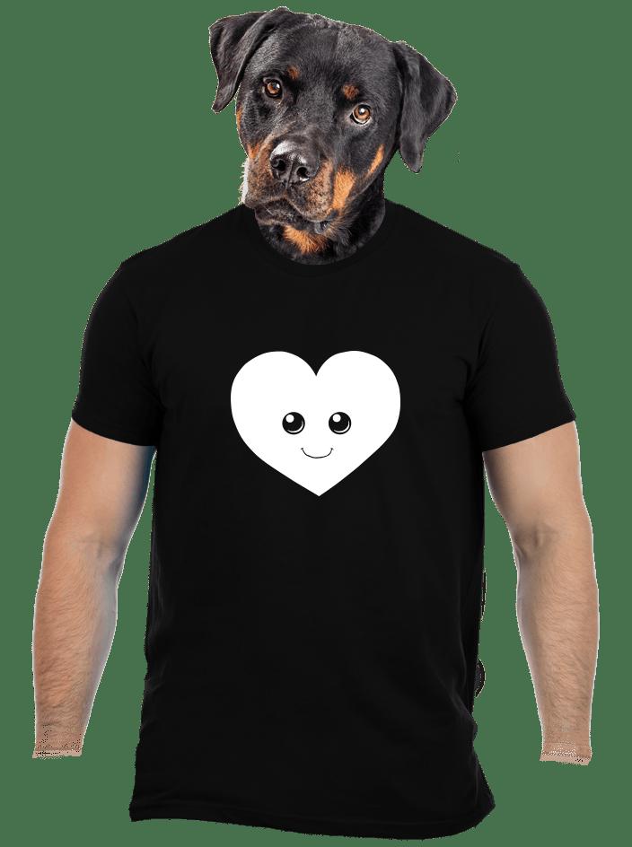 Szív férfi póló