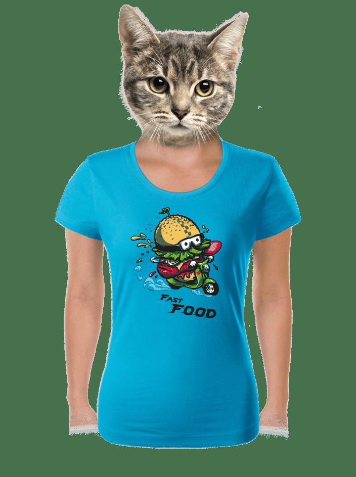 Fast food női póló