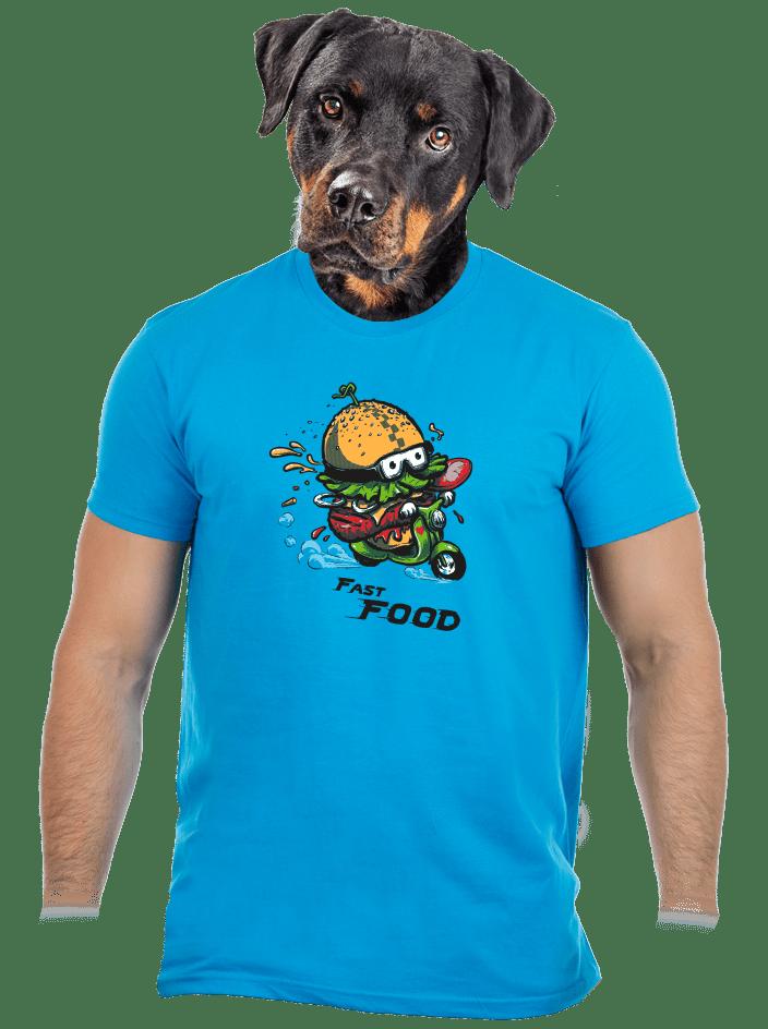Fast food férfi póló