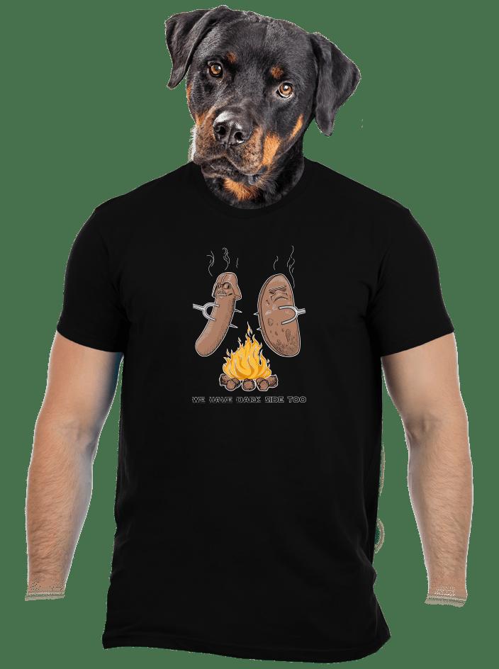 Dark side férfi póló