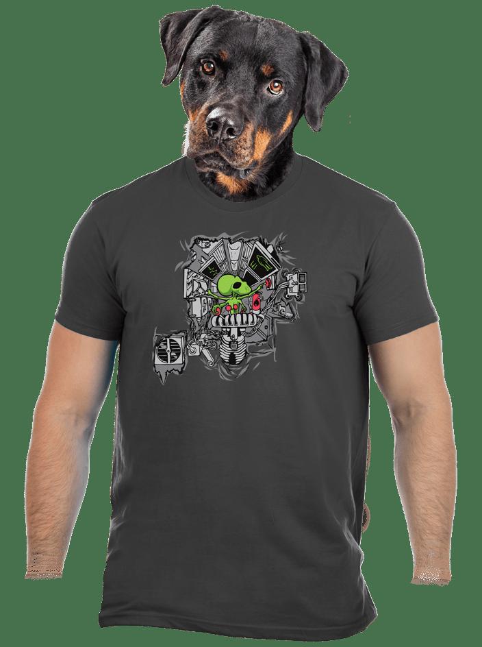 Programozó férfi póló