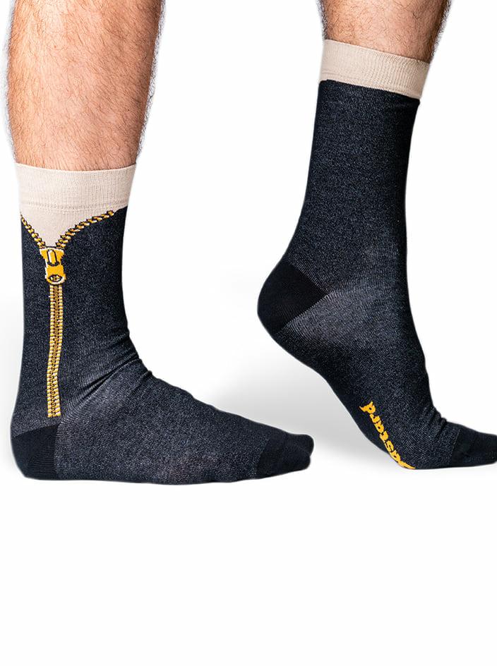 Cipzár zokni