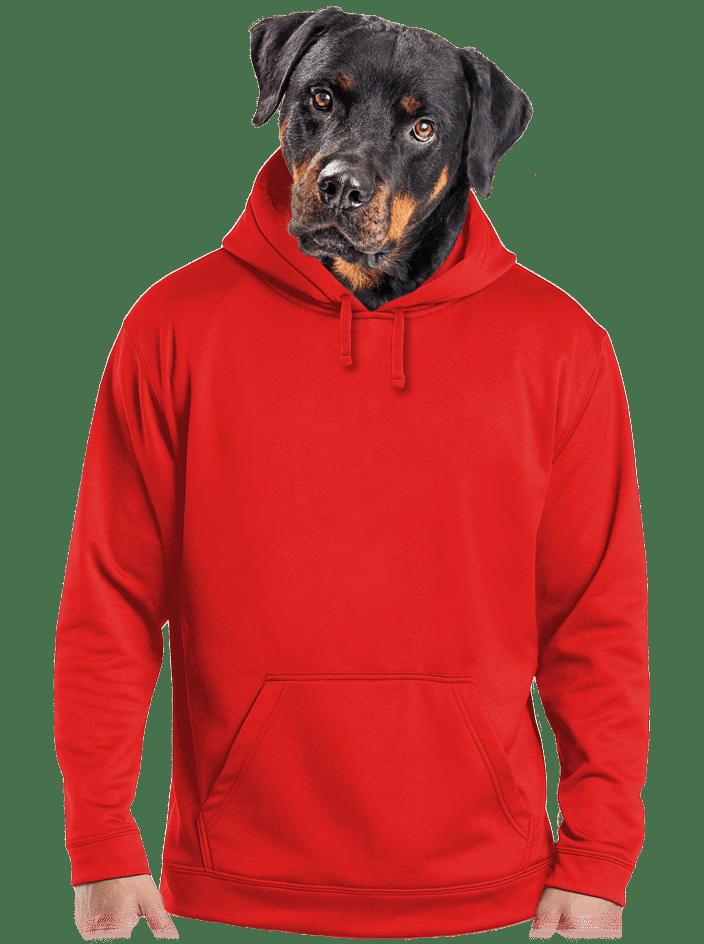 Férfi pulóver piros
